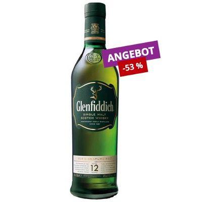 Durstexpress: Getränke ohne Lieferkosten ab 15€ MBW   z.B. Glenfiddich 12 Jahre für 14€