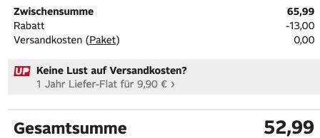Bruno Banani Wollmantel in Grau inkl. Schal für 52,99€ (statt 110€)