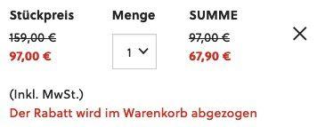 Fossil Herren Chronograph 42mm Rhett aus Edelstahl für 67,90€ (statt 114€)