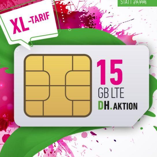 🔥 Knaller! Telekom Daten-Flat mit 15GB LTE für 9,99€ mtl. (statt 30€) + 3 Monate readly gratis