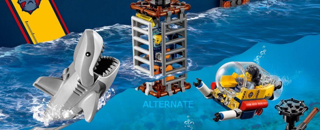LEGO City 60266 Meeresforschungsschiff für 89€ (statt 94€)