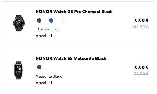 Honor MagicBook Pro 16,1 (512GB, Ryzen 5) + Watch GS Pro + Watch ES für 779€ (statt 1.137)
