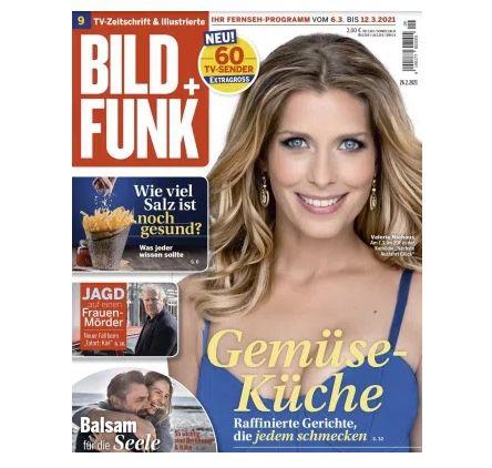 53 Ausgaben Bild + Funk Abo für 130€ + 110€ Scheck