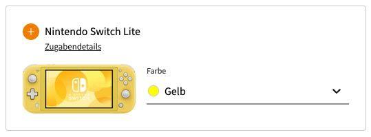 Samsung Galaxy A71 + Nintendo Switch Lite für 49€ + Vodafone Allnet Flat mit 10GB LTE für 19,99€ mtl.