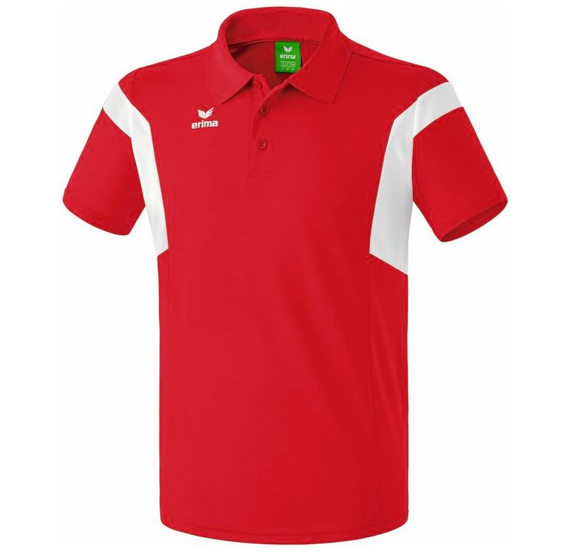 Erima Classic Team Poloshirt in Rot für 8,39€(statt 18€)