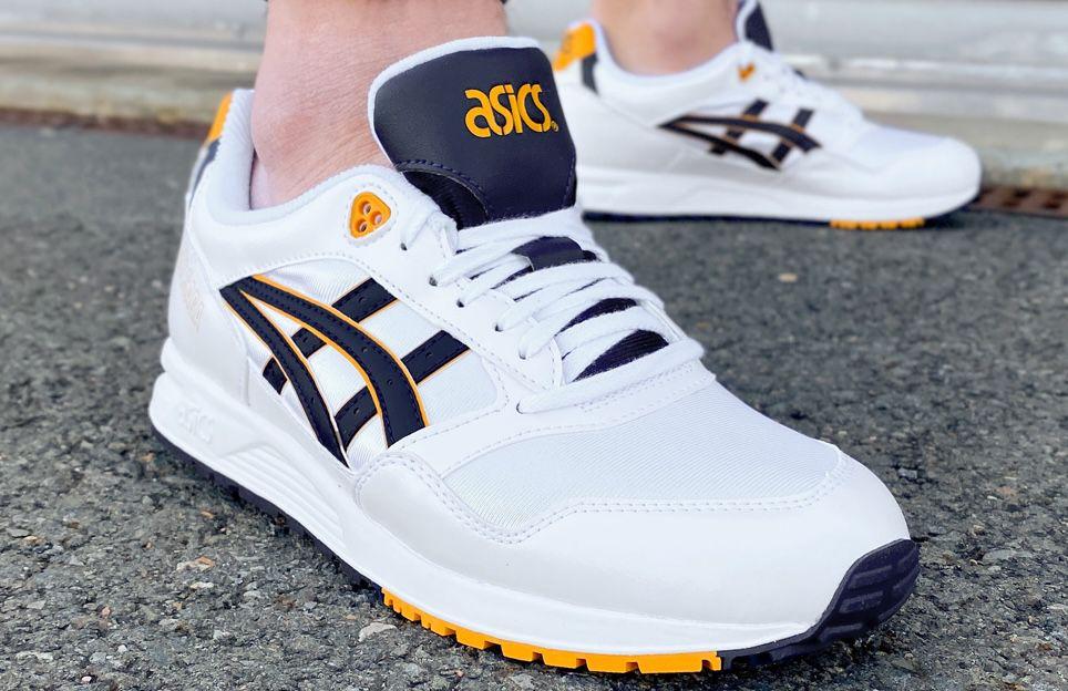 Asics Tiger GEL SAGA Sneaker in Weiß/Silber für 48,94€ (statt 62€)   37 bis 45