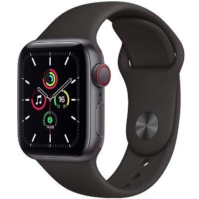Apple Watch SE in 40mm LTE & GPS und Sportarmband für 306,36€ (statt 337€)