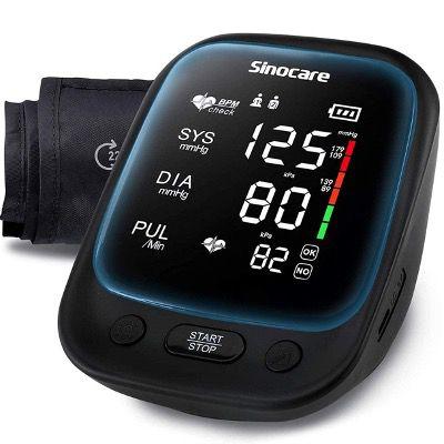 Sinocare Oberarm Blutdruckmessgerät mit großem Display für 12,99€ (statt 26€)   Prime