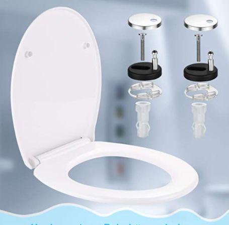 Dalmo O-Form  WC Sitz mit Absenkautomatik für 23,99€ (statt 37€)