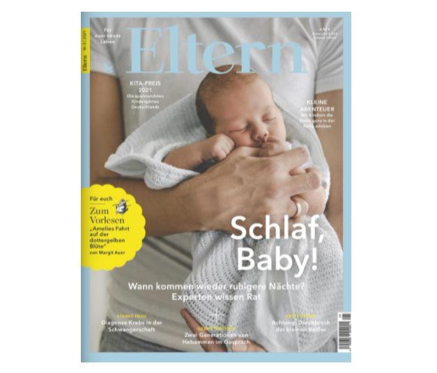 """Jahresabo der Zeitschrift """"Eltern"""" für 58,80€ + Prämie 50€ Amazon Gutschein"""