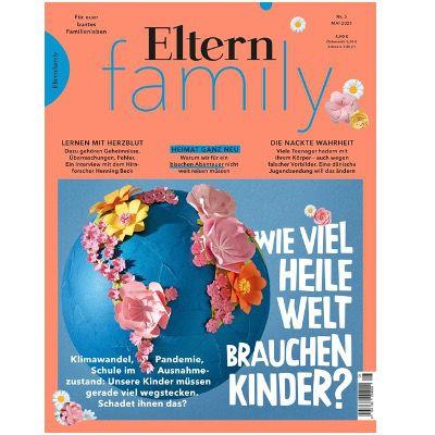 Eltern Family Jahresabo für 58,80€ + Prämie: z.B. 50€ Amazon Gutschein
