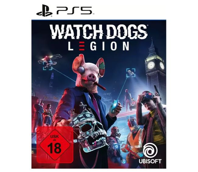 3 Games für 49€ (auch PS5) – z.B. 3x Watch Dogs: Legion (PS5) ab 49€ (statt 75€)