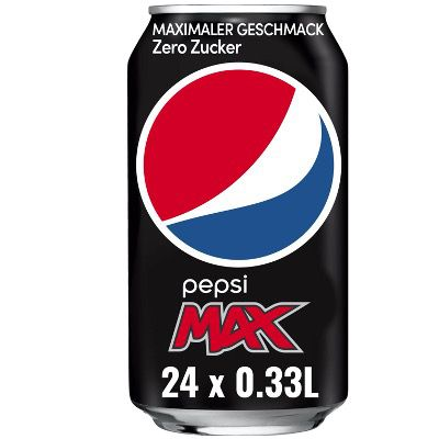 24x Pepsi Max in der Dose (je 0,33L) für 6,67€ + Pfand – im Prime Sparabo