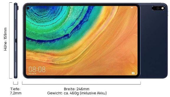 Huawei MatePad Pro Tablet mit 10,8, 128GB und WiFi für 344,99€ (statt 405€)