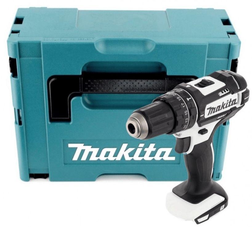 Makita DHP482ZWJ   18V Akku Schlagbohrschrauber inkl. Makpac für 86,96€ (statt 101€)