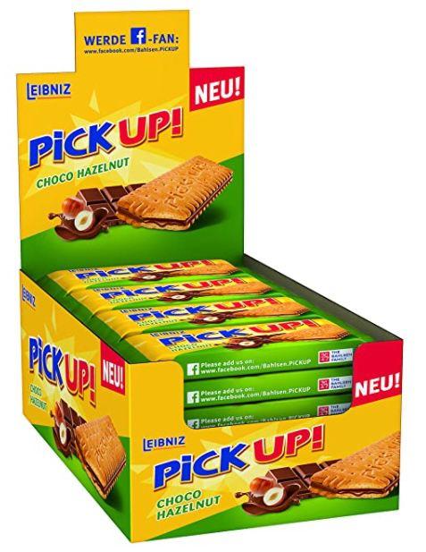 5x 24er Pack Leibniz PiCK UP Choco Hazelnut Schokolade ab 33,71€ (statt 45€)