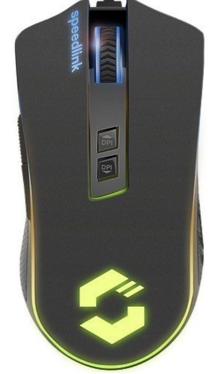 Speedlink Orios RGB (SL 680010 BK) Gaming Maus für 14,99€ (statt 28€)