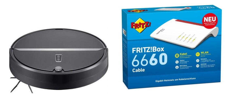 Vodafone Red Internet & Phone 1000 Cable + Fritzbox 6660 + Roborock E4 für 39,99€ mtl.