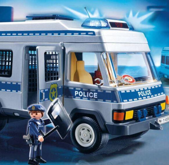 PLAYMOBIL City Action Polizei Mannschaftswagen ab 22,99€ (statt 40€)