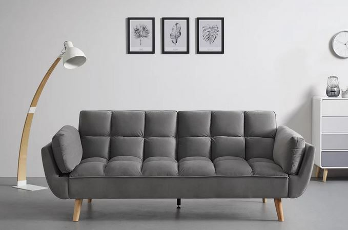 Bessagi Cora Echtholz Sofa  (214x92cm) für 259,25€ (statt 339€)