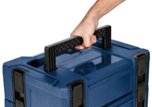 Einhell Systemkoffer Set 5 tlg. mit Rollbrett für 99,95€ (statt 140€)