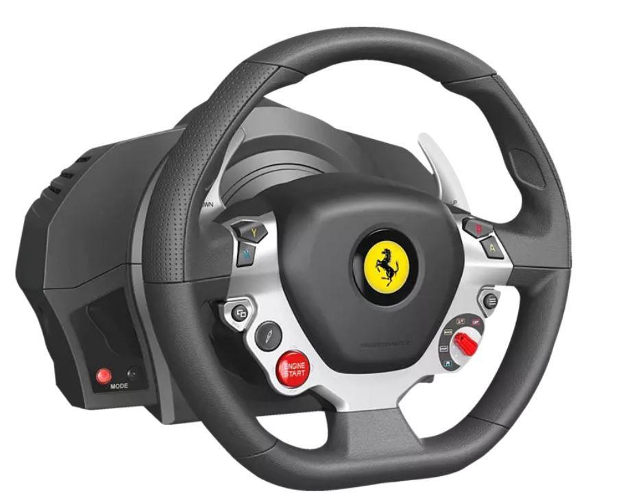 Media Markt Dienstag Sale   z.B. THRUSTMASTER TX Racing Wheel (inkl. 2 Pedalset) für 212,99€ (statt 289€)
