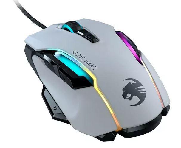 ROCCAT Kone AIMO Gaming Maus Weiß ab 57,51€ (statt 76€)