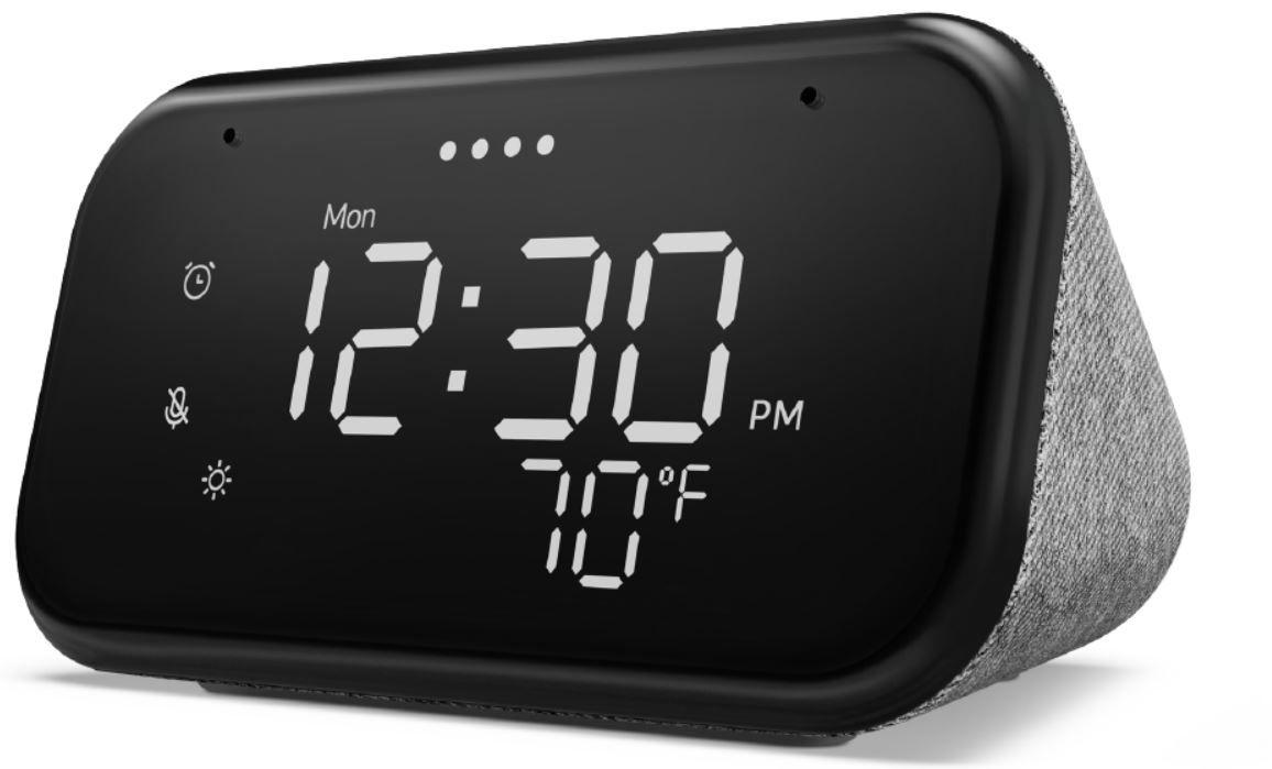 Bestpreis Lenovo Smart Clock Essential für 24,89€ (statt 50€)