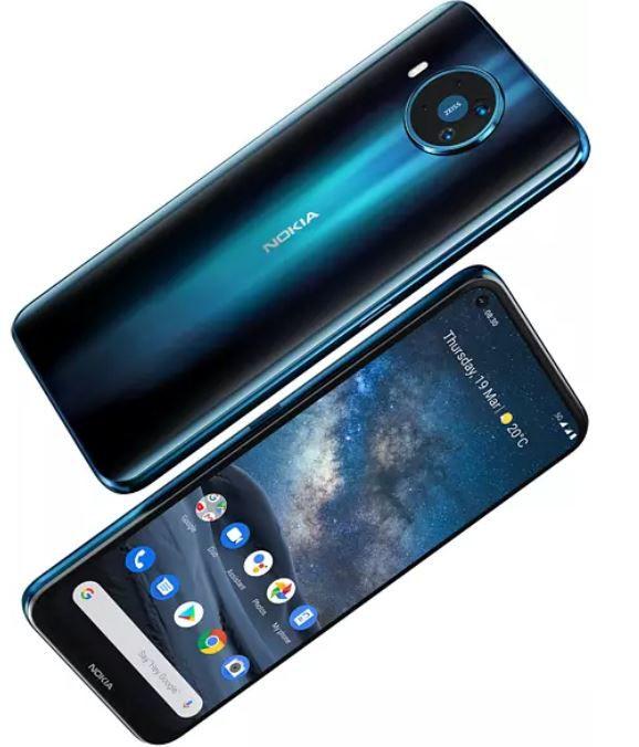 Nokia 8.3 5G Smartphone (6,81 Zoll, 128GB) für 323€ (statt 367€)