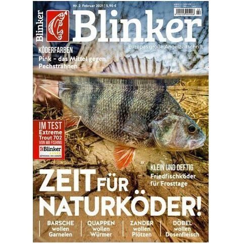 12 Ausgaben vom Blinker im Abo für 74,40€ + Prämie: 65€ Amazon Gutschein oder 60€ Scheck