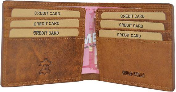 Solo Pelle Herren Geldbörse Model: Cologne (sehr Flach) inkl.Geschenkbox für 19,90€ (statt 60€)