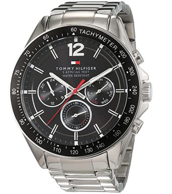 Tommy Hilfiger Luke Herren Edelstahl Uhr für 99€ (statt 158€)