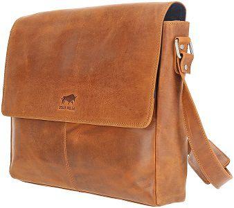 Solo Pelle Business Messenger Tasche aus echtem Leder für 99€ (statt 199€)