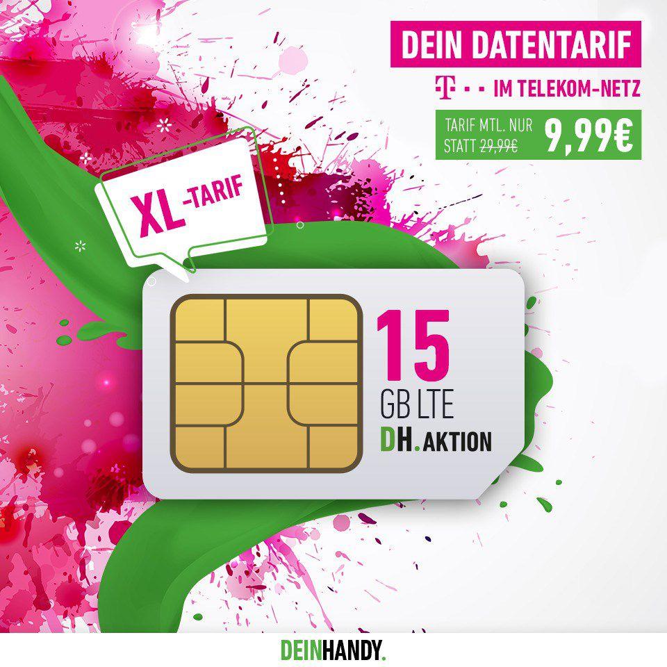 🔥 Knaller! Telekom Daten Flat mit 15GB LTE für 9,99€ mtl. (statt 30€) + 3 Monate readly gratis