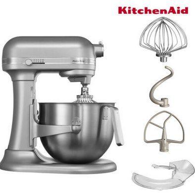 KitchenAid Heavy Duty (5KSM7591X) Küchenmaschine mit 500 Watt für 579,90€ (statt 710€)