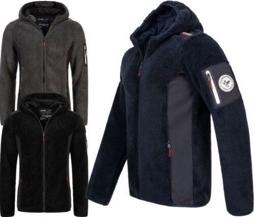 Geographical Norway Teddyfleece Jacke in 3 Farben für je 39,90€ (statt 50€)