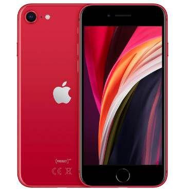 Apple iPhone SE (2020) in Rot mit 64GB für 389€ (statt 445€)