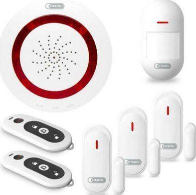 ABUS Alarmanlage Set inkl. Zentrale, Bewegungsmelder & 3x Tür  / Fenstermelder für 49,90€ (statt 86€)