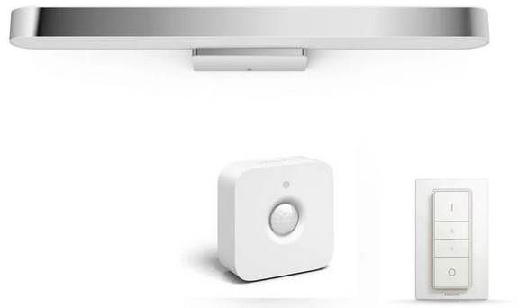 Philips Hue White Ambiance Adore Badleuchte (Bluetooth) + Bewegungsmelder + Dimmschalter für 139,90€ (statt 178€)