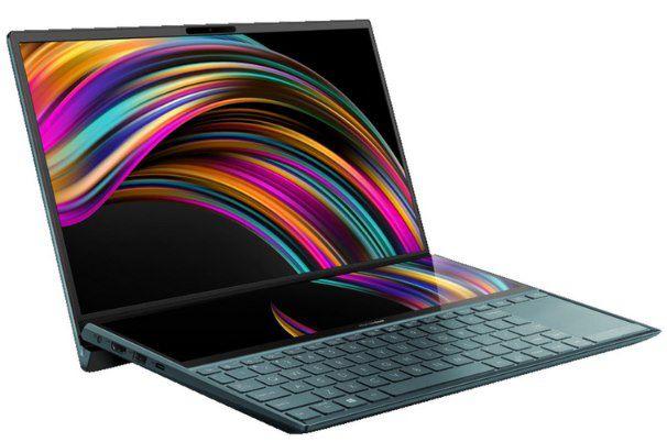 Asus ZenBook Duo UX481 mit i5 (10. Gen), 512GB SSD, 8GB & GeForce MX250 für 929€ (statt 1.289€)