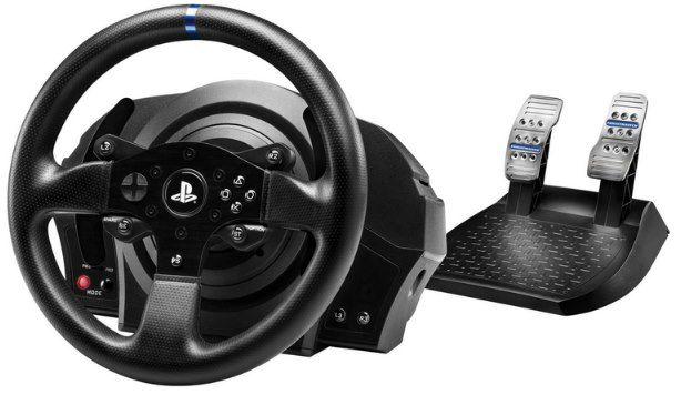Thrustmaster T300RS Racing Wheel inkl. Pedal Set für PS & PC für 242,99€ (statt 296€)