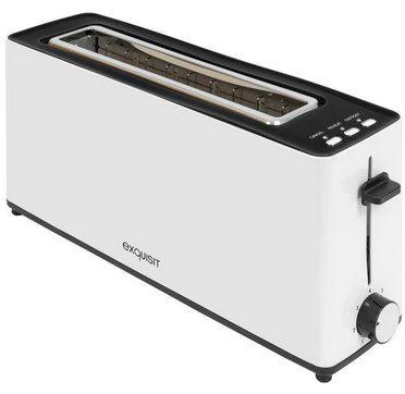 Exquisit TA 6502 Langschlitz Toaster (900 W) für 15€ (statt 23€)