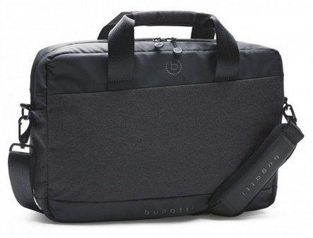 Bugatti Aktentasche in Schwarz (46x32cm) für 19,99€ (statt 25€)