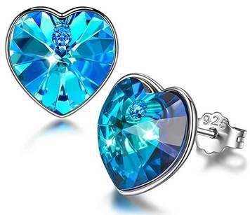 Sellot Ohrringe aus 925er Sterling Silber mit Swarovski Kristallen für 9,99€ (statt 26€)