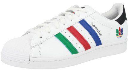 adidas Originals Superstar Sneaker Cloud White / Green / Core Black für 49,99€ (statt 69€)