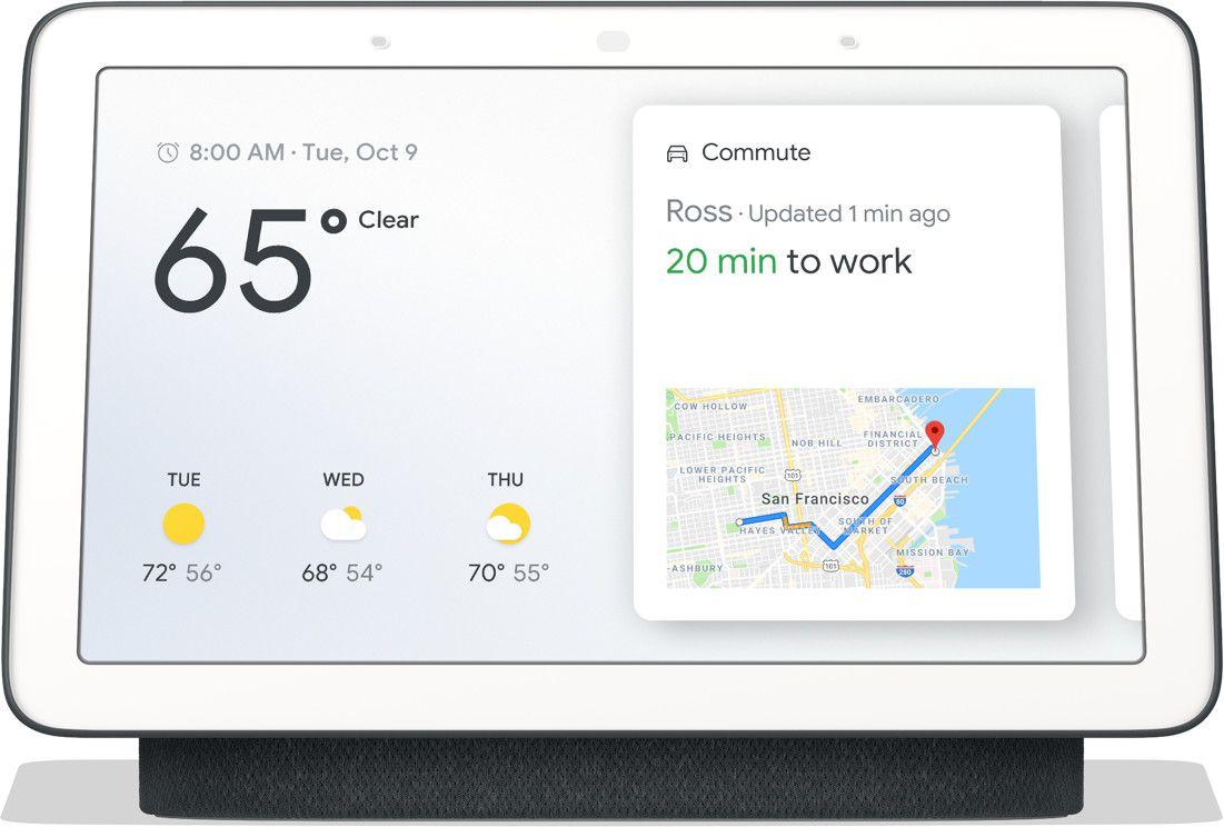 Google Nest Hub Smart Speaker in Carbon für 39,47€(statt 76€)