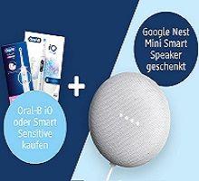 Beim Kauf einer elektrischen Oral-B-Zahnbürste ein Google Nest Mini gratis