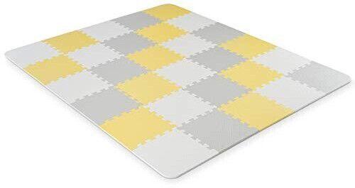 Kinderkraft Spielmatte Luno in gelb für 40€ (statt 49€)