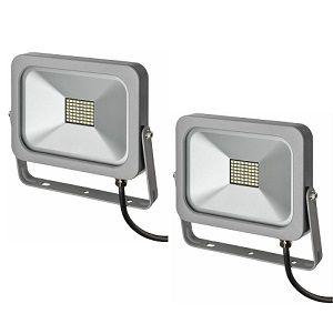 Doppelpack – Brennenstuhl LED Slim Fluter mit 10W für 14,99€ (statt 34€)