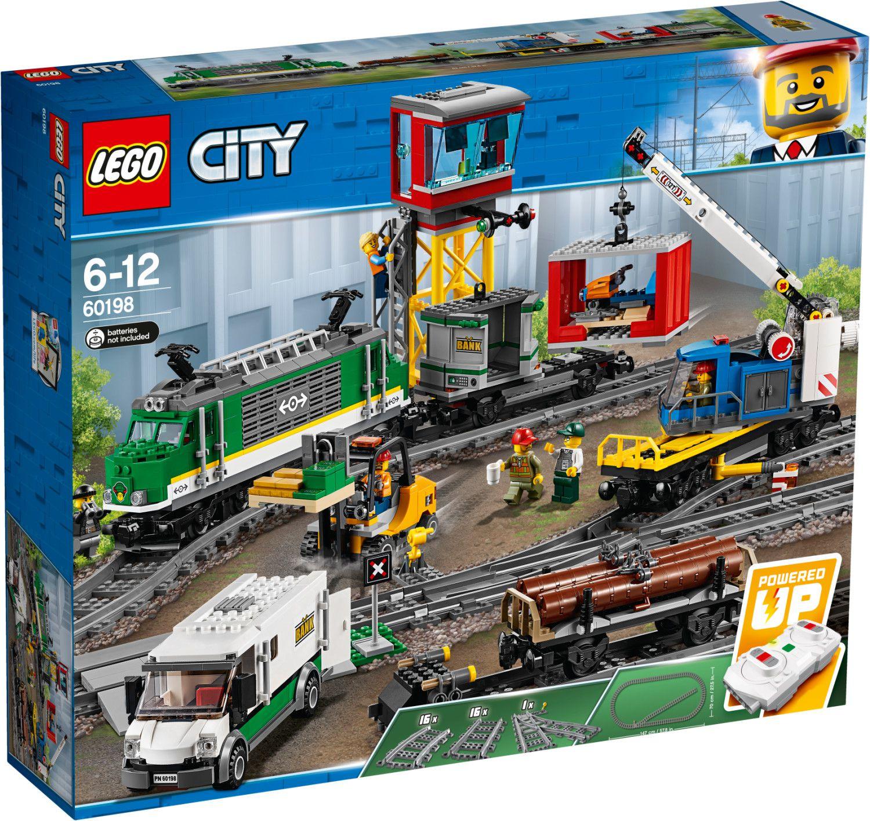 Lego Sets dank 3 für 2 Aktion günstig   z.B. Güterzug + Personenzug + Transporter für 248,90€ (statt 336€)